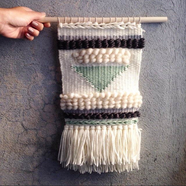 Image of Handmade Tapestry Wall Weaving 15