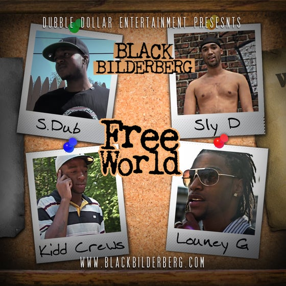 "Image of Black Bilderberg ""Free World"" CD"