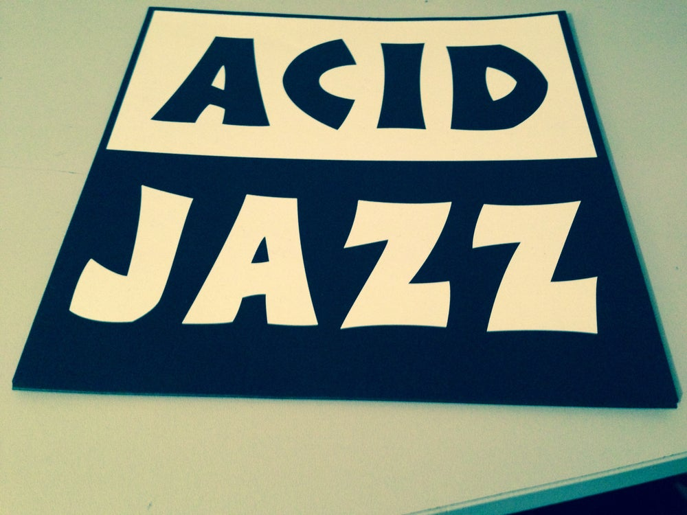 "Image of Acid Jazz House Bags - 7"" & CD"