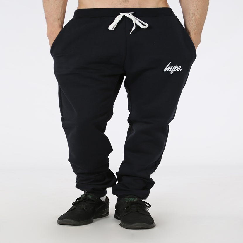 Image of HYPE.CLASSIC JOGGER BLACK