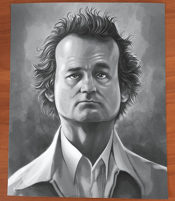Image of Bill 'F@cking' Murray Limited Edition Print