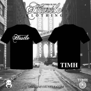 Image of Classic TIMH Logo T-shirt **NEW VERSION**  (Black/White)