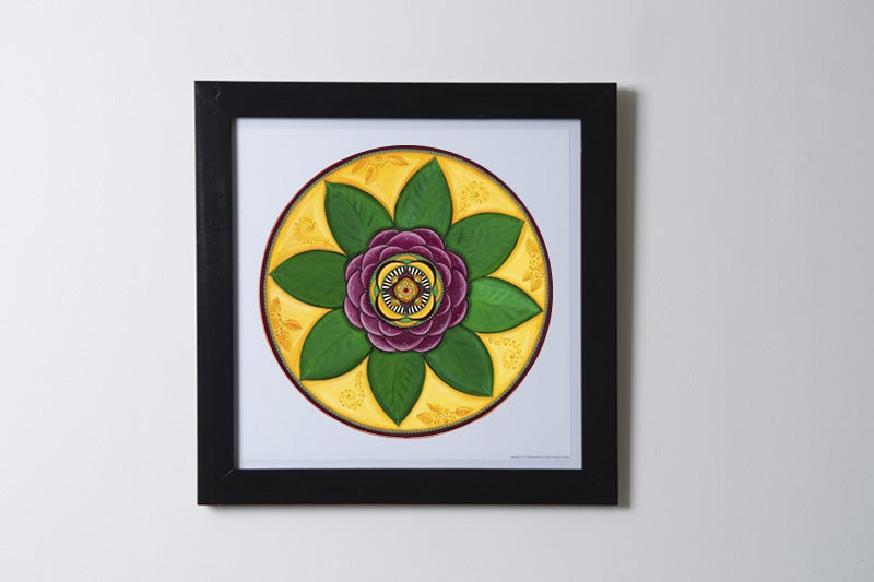 """Image of """"Spiritual connection""""- Damask Rose Archival Paper Print (unframed)"""