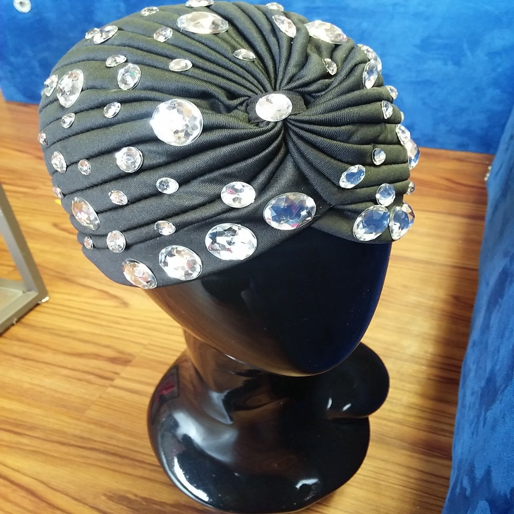 Image of Blinged out Turban!