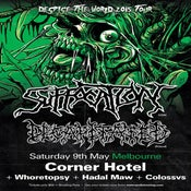 Image of Suffocation/Decapitated at The Corner Hotel, ft guests Whoretopsy, Hadal Maw and Colossvs.