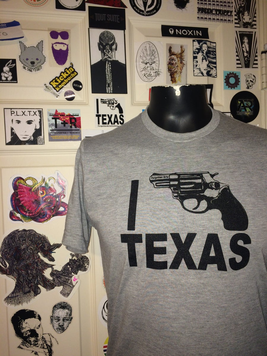 Image of I Bang Texas Heather Grey