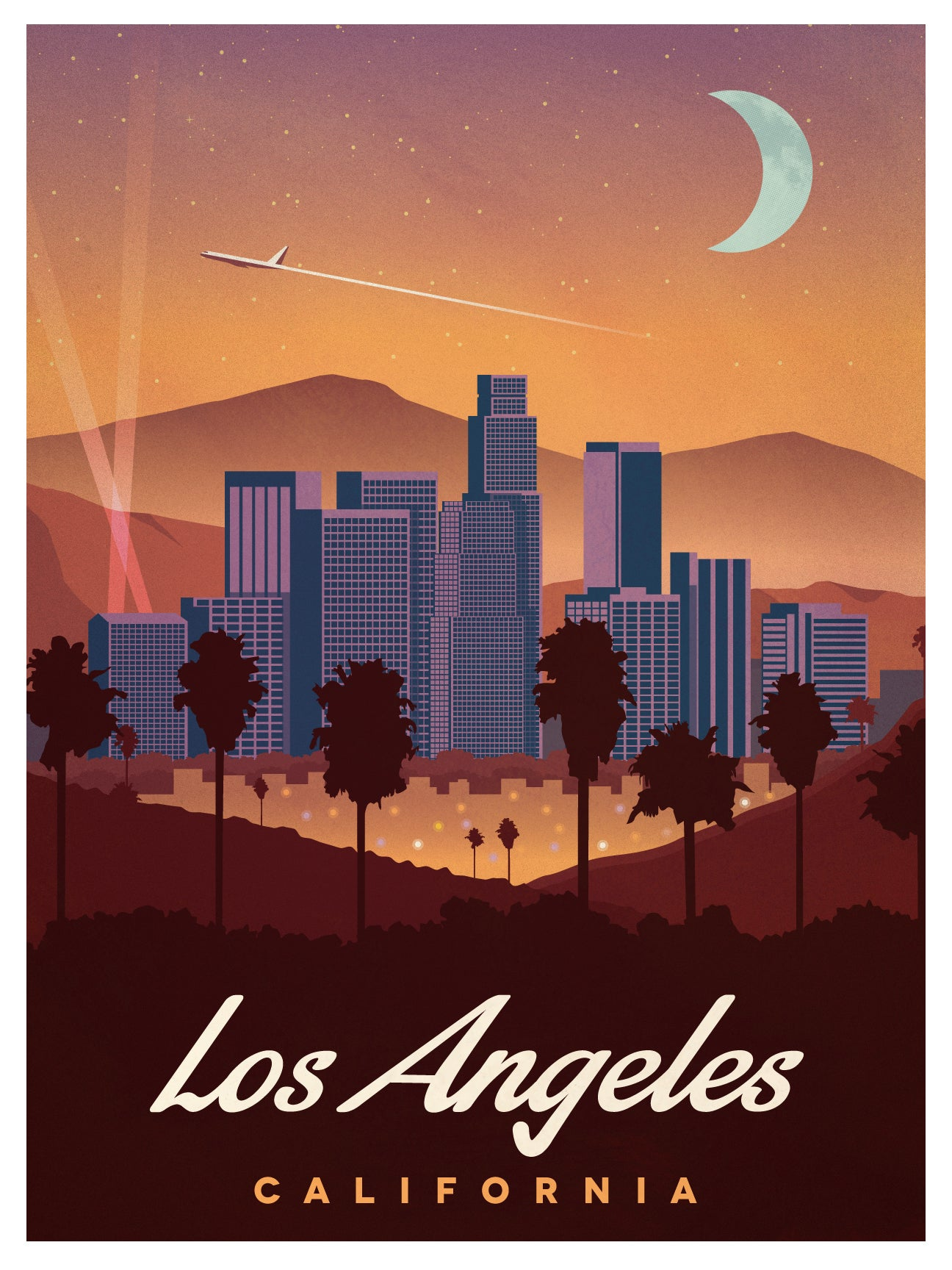 Ideastorm studio store vintage los angeles poster for Antique shops in los angeles