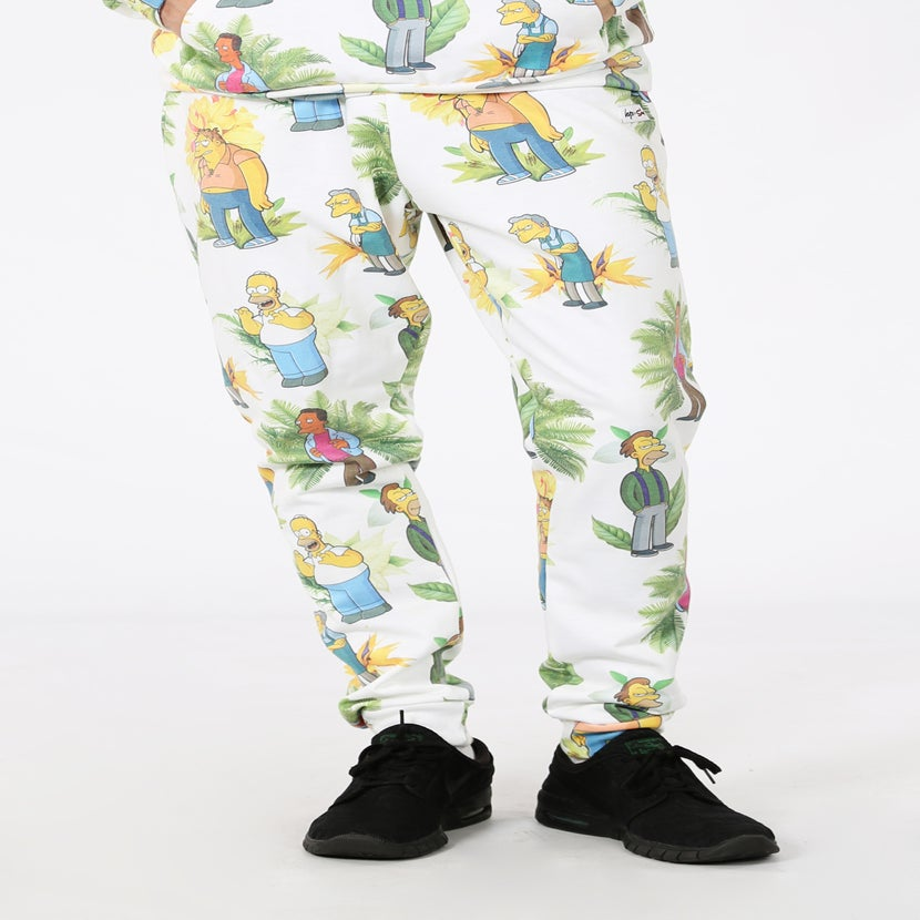 Image of HYPE X SIMPSONS. BAR BOYS JOGGERS