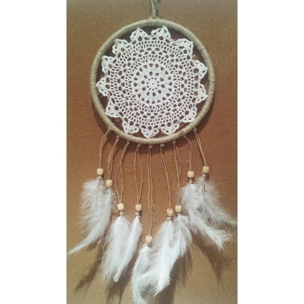Image of 'Boho Bliss' Dreamcatcher ~ 20cm