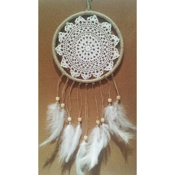 Image of 'Boho Bliss' Dreamcatcher ~ 20cm