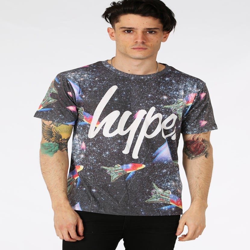 Image of HYPE. RETRO SPACE TEE