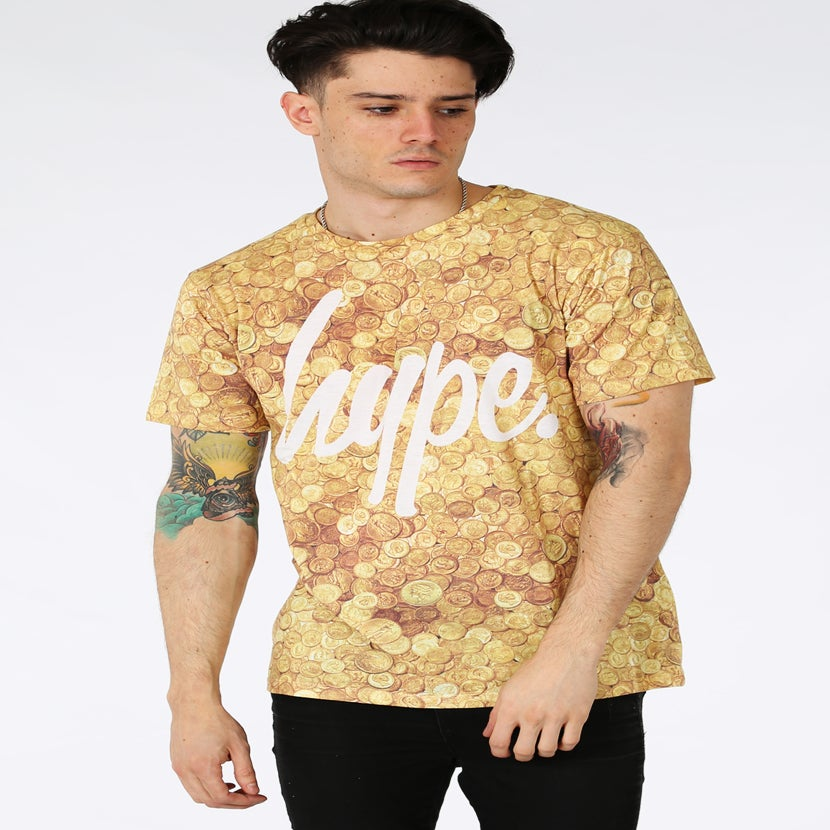 Image of HYPE. COINS TEE