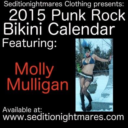 Image of 2015 Punk Rock Bikini Calendar
