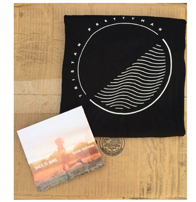 Image of Back To Home Exclusive Pack: Tee + Signed CD
