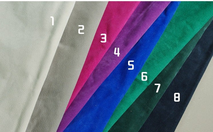 Image of Suede Lining Color Options