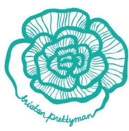 Image of Tristan Prettyman Flower Sticker