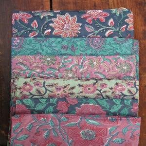 Image of Housse de coussin indien / Handblock pillow cover