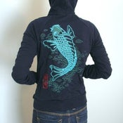 Image of SALE Koi womens hoodie  only S