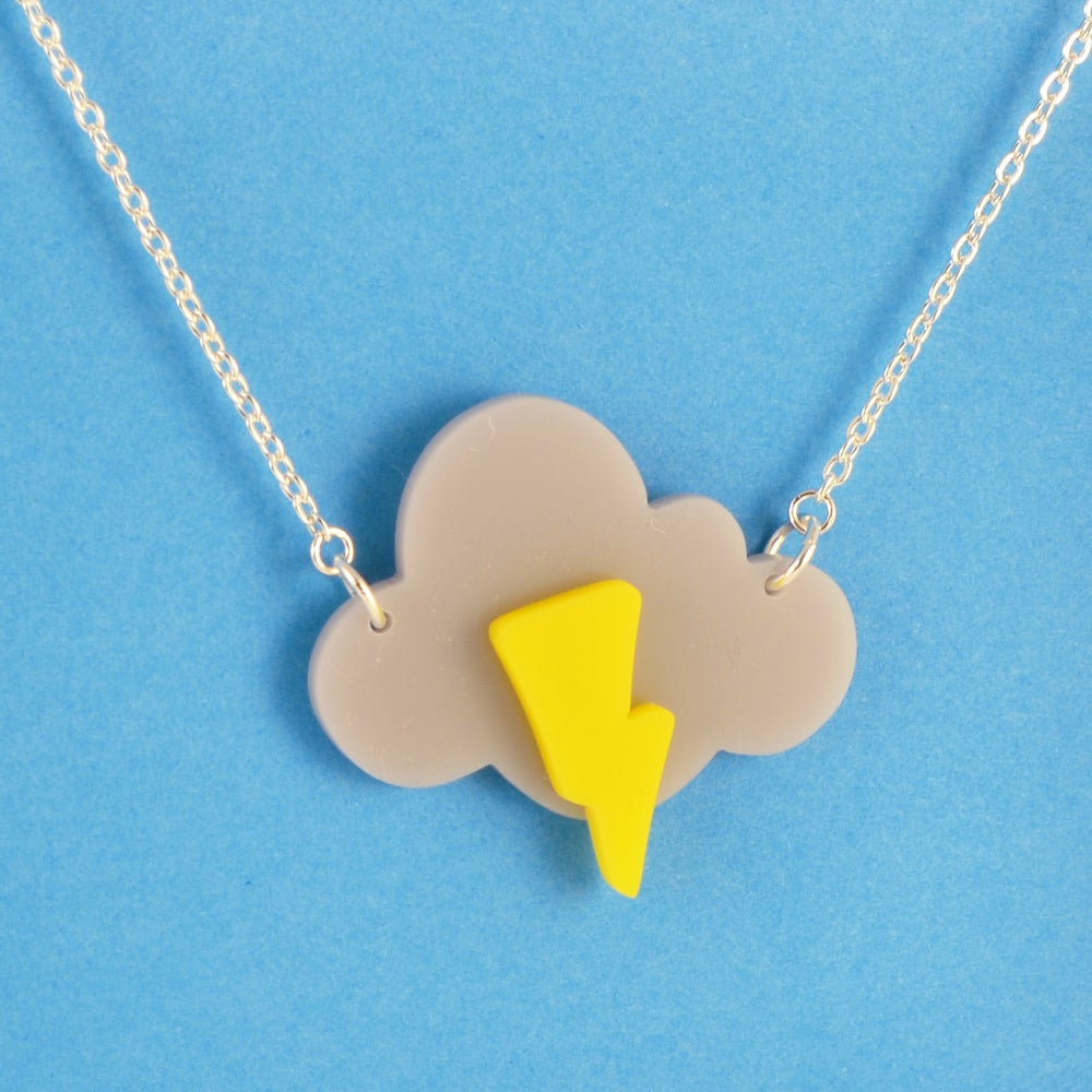 Image of Stormy Cloud necklace