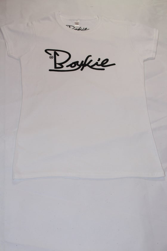 Image of Boykie Classic fitted womens t-shirt