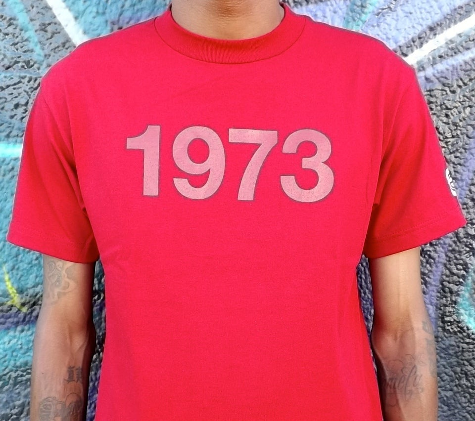 Image of 1973 'BIRTH OF HIP-HOP' COLOR PACK (CARDINAL RED)
