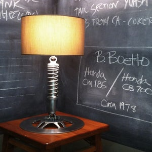 Image of Free Shade with Original Moto Lamp