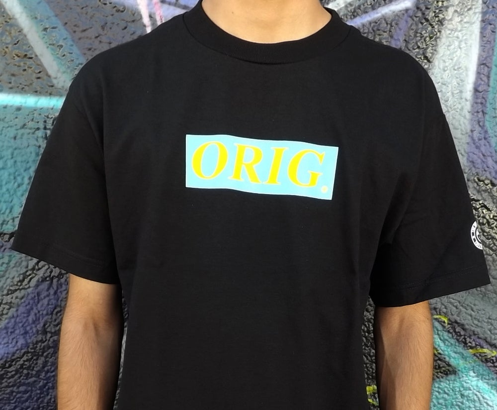 Image of 'SPRING' ORIG BOX-LOGO (BLACK)