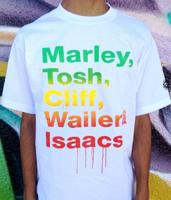 Image of REGGAE SHOUTOUT (WHITE)