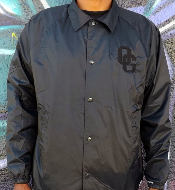 Image of THE OG SELFIE COACHES JACKET (BLACK)