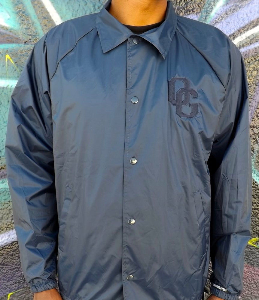 Image of THE OG SELFIE COACHES JACKET (NAVY)