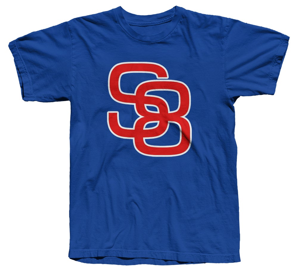 Image of Classic Logo Tee (Red/White/Blue)