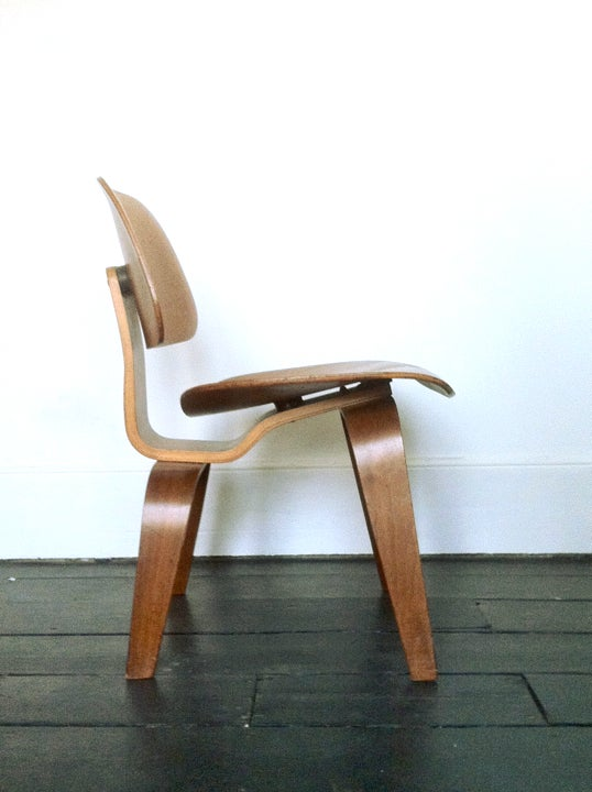 Image of Eames DCW by Evans