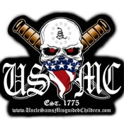 Image of USMC Decal Uncle Sam's Misguided Children
