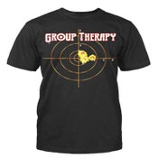 """Image of Men Black """"Group Therapy"""" Short Sleeve"""