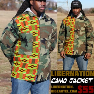 Image of LiberNation Camo Jacket