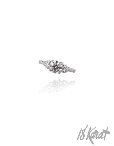 Angelica's Engagement Ring - 18Karat Studio+Gallery