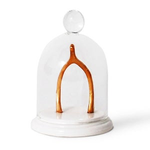 Image of Imm Living Wisbone Bell Jar Ring Holder