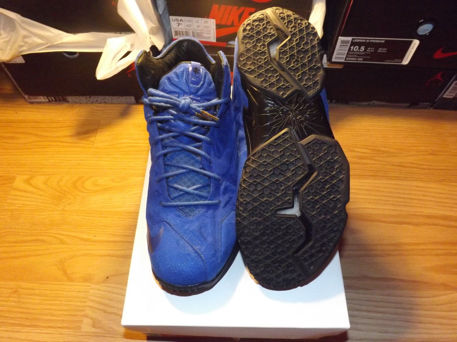 Image of Lebron 11 ext suede qs