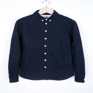 Image of Patrik Ervell - Woven Jersey Winter Button-Down