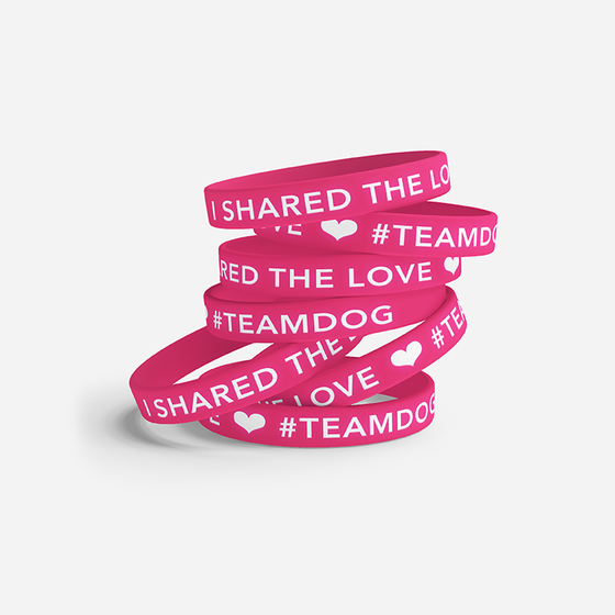 "Image of ""I Shared The Love"" Wristband"