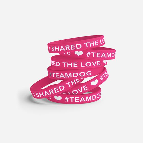 "Image of ""I Shared The Love"" Wristband"