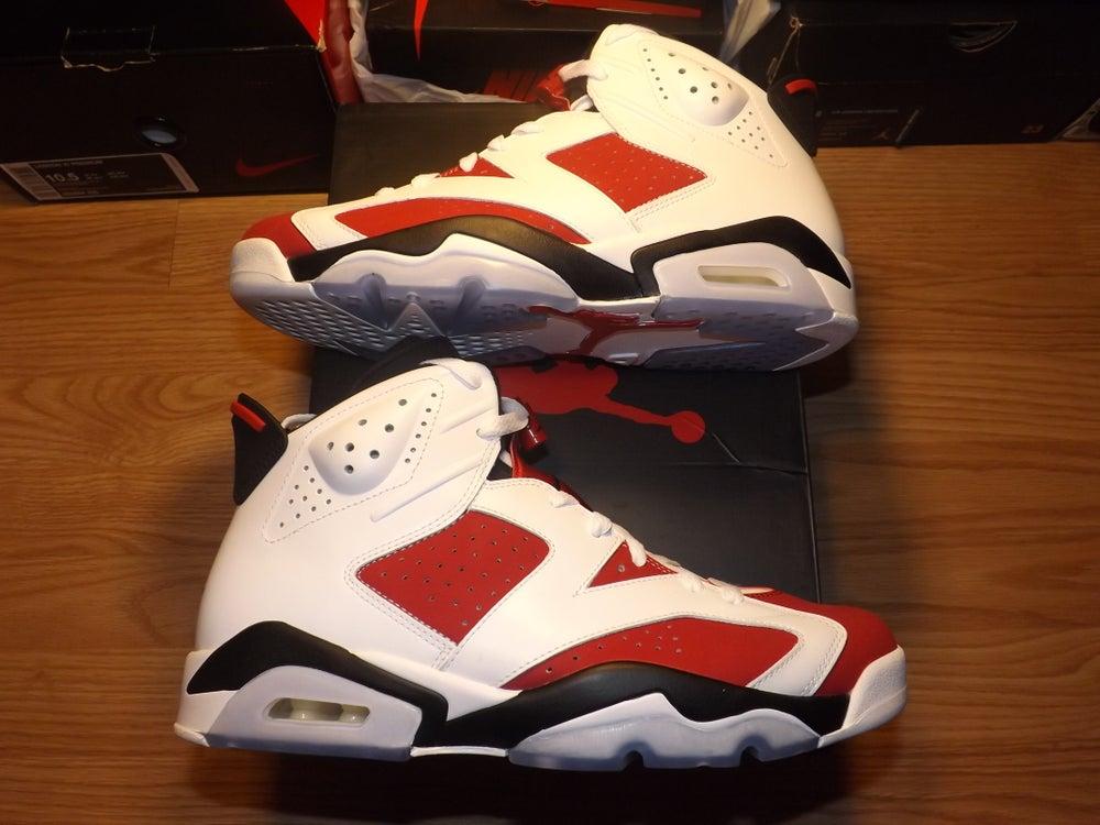 """Image of Air Jordan 6 retro """"carmine"""""""