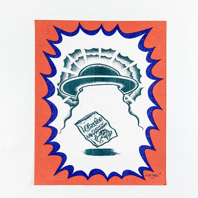 Image of GET THE GOOD SHIT print
