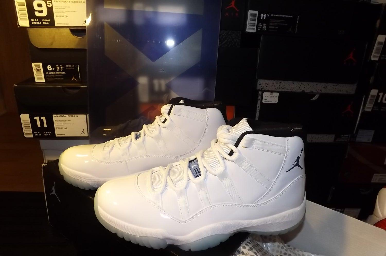 """Image of Air Jordan Retro 11 """"Legend Blue"""""""