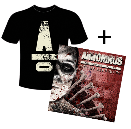 Image of T-shirt + End of Atonement album
