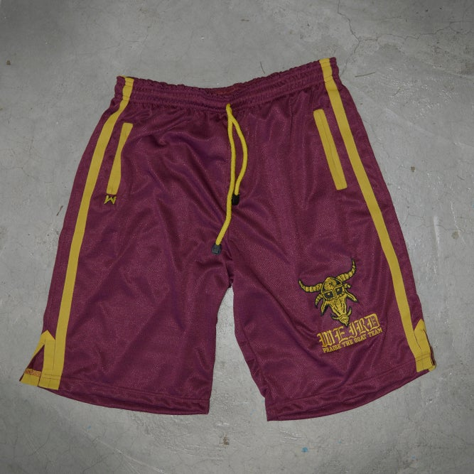 Image of WARRIORS SHORTS WINO
