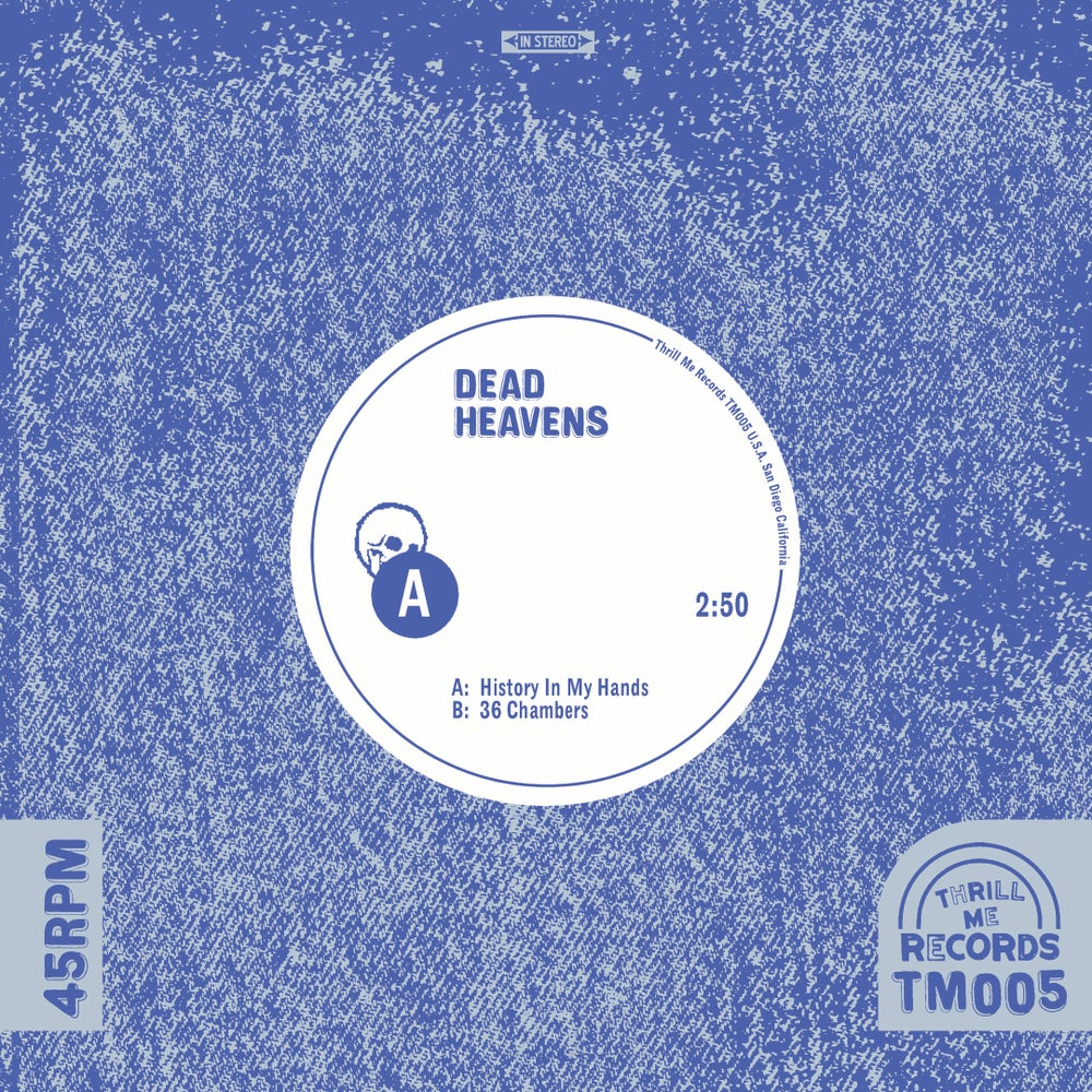 "Image of Dead Heavens – History In My Hands (7"")"