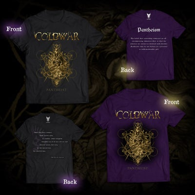 Image of 'Pantheist' Shirt *Only Black available Purple SOLD OUT*
