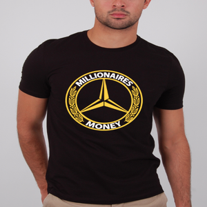 "Image of Millionaires ""Millionaires Money"" Black Tee"