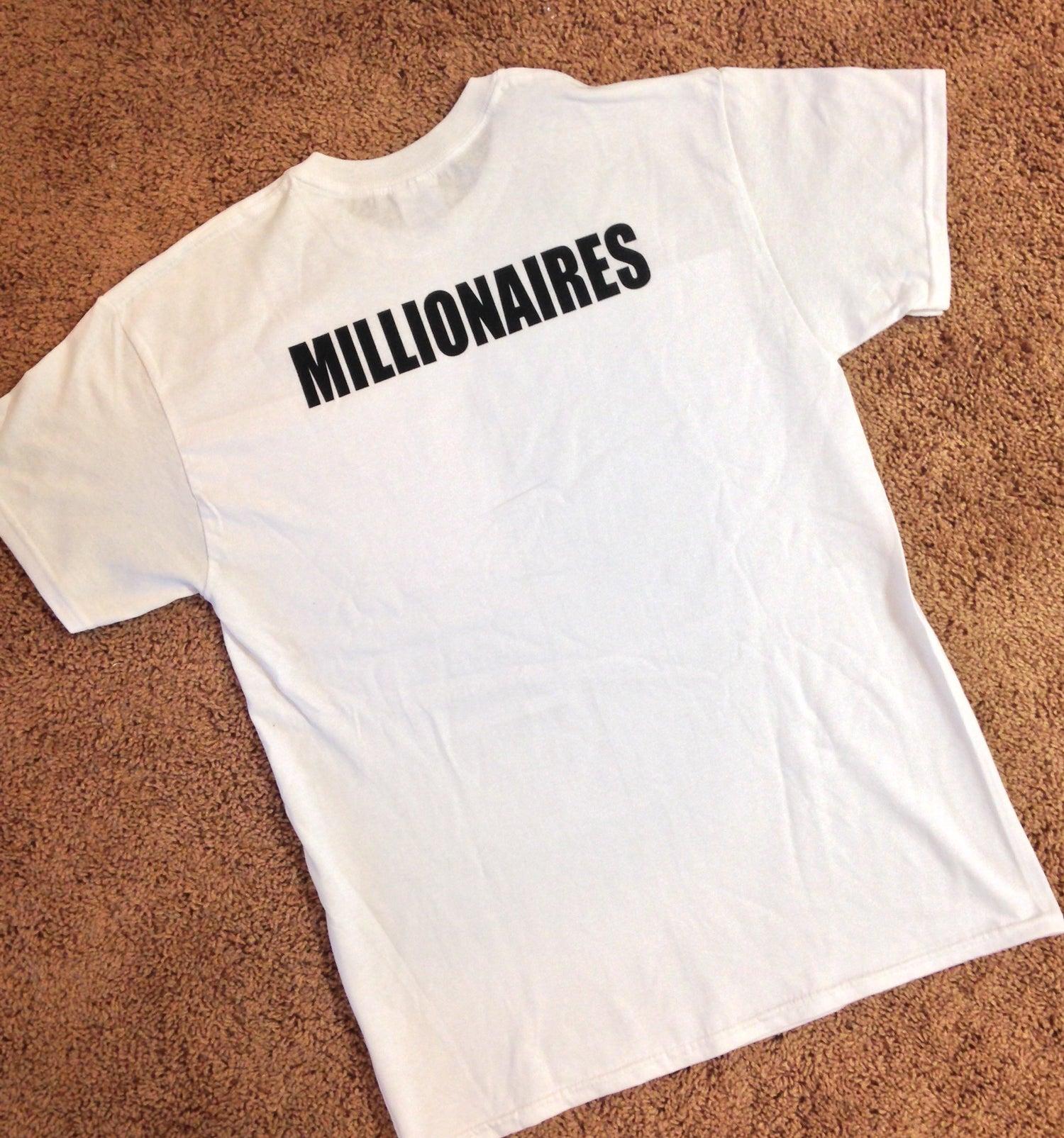 "Image of Millionaires ""I Wanna PIZZA You"" White Tee"